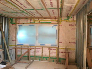 QUBED architecture passivhaus airtight construction